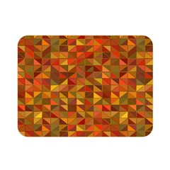 Gold Mosaic Background Pattern Double Sided Flano Blanket (mini)