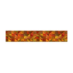 Gold Mosaic Background Pattern Flano Scarf (mini)