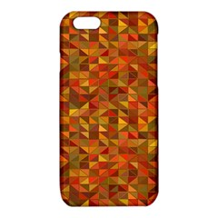 Gold Mosaic Background Pattern iPhone 6/6S TPU Case