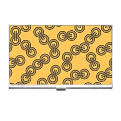 Abstract Shapes Links Design Business Card Holders