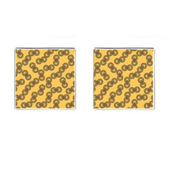 Abstract Shapes Links Design Cufflinks (square)
