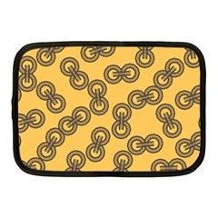 Abstract Shapes Links Design Netbook Case (Medium)
