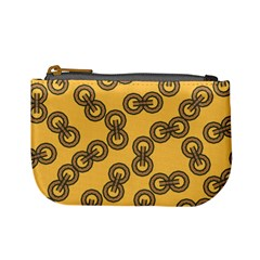 Abstract Shapes Links Design Mini Coin Purses
