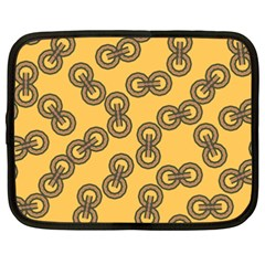 Abstract Shapes Links Design Netbook Case (XXL)