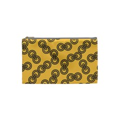 Abstract Shapes Links Design Cosmetic Bag (Small)