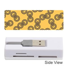 Abstract Shapes Links Design Memory Card Reader (Stick)