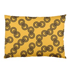 Abstract Shapes Links Design Pillow Case (two Sides)