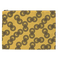 Abstract Shapes Links Design Cosmetic Bag (XXL)