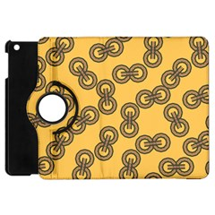 Abstract Shapes Links Design Apple Ipad Mini Flip 360 Case