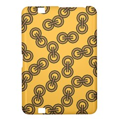 Abstract Shapes Links Design Kindle Fire Hd 8 9