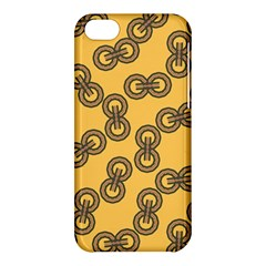 Abstract Shapes Links Design Apple iPhone 5C Hardshell Case