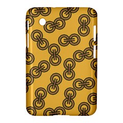 Abstract Shapes Links Design Samsung Galaxy Tab 2 (7 ) P3100 Hardshell Case