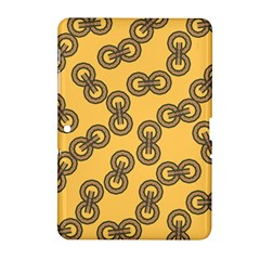 Abstract Shapes Links Design Samsung Galaxy Tab 2 (10.1 ) P5100 Hardshell Case