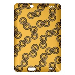 Abstract Shapes Links Design Amazon Kindle Fire HD (2013) Hardshell Case