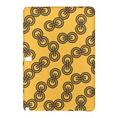 Abstract Shapes Links Design Samsung Galaxy Tab Pro 12.2 Hardshell Case