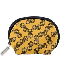 Abstract Shapes Links Design Accessory Pouches (small)