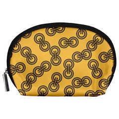 Abstract Shapes Links Design Accessory Pouches (large)