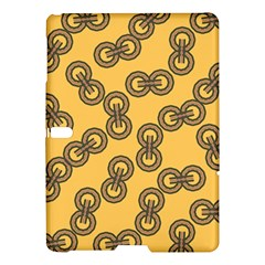 Abstract Shapes Links Design Samsung Galaxy Tab S (10 5 ) Hardshell Case