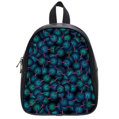 Background Abstract Textile Design School Bags (Small)