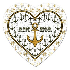 Anchor Heart Jigsaw Puzzle (Heart)