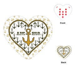 Anchor Heart Playing Cards (Heart)