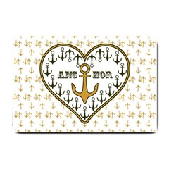 Anchor Heart Small Doormat