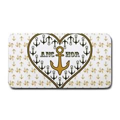 Anchor Heart Medium Bar Mats