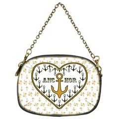 Anchor Heart Chain Purses (one Side)