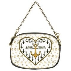 Anchor Heart Chain Purses (Two Sides)