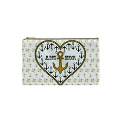 Anchor Heart Cosmetic Bag (Small)