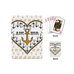 Anchor Heart Playing Cards (Mini)