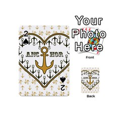 Anchor Heart Playing Cards 54 (mini)