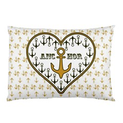 Anchor Heart Pillow Case (two Sides)
