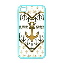 Anchor Heart Apple Iphone 4 Case (color)
