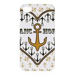 Anchor Heart Apple iPhone 4/4S Hardshell Case