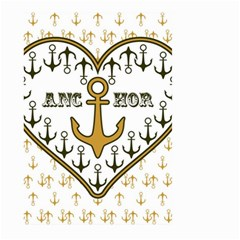 Anchor Heart Large Garden Flag (two Sides)