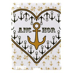 Anchor Heart Apple Ipad 3/4 Hardshell Case (compatible With Smart Cover)