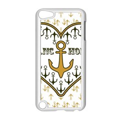 Anchor Heart Apple iPod Touch 5 Case (White)