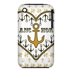 Anchor Heart iPhone 3S/3GS