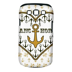 Anchor Heart Samsung Galaxy S III Classic Hardshell Case (PC+Silicone)