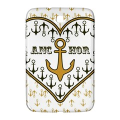 Anchor Heart Samsung Galaxy Note 8.0 N5100 Hardshell Case