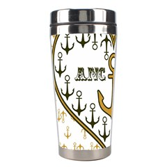 Anchor Heart Stainless Steel Travel Tumblers