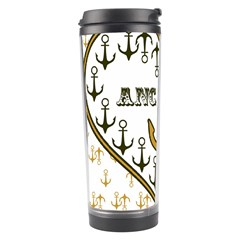 Anchor Heart Travel Tumbler