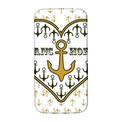 Anchor Heart Samsung Galaxy S4 I9500/i9505  Hardshell Back Case