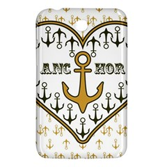 Anchor Heart Samsung Galaxy Tab 3 (7 ) P3200 Hardshell Case