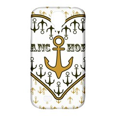 Anchor Heart Samsung Galaxy S4 Classic Hardshell Case (PC+Silicone)