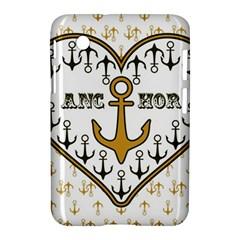 Anchor Heart Samsung Galaxy Tab 2 (7 ) P3100 Hardshell Case