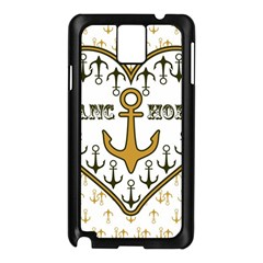 Anchor Heart Samsung Galaxy Note 3 N9005 Case (black)