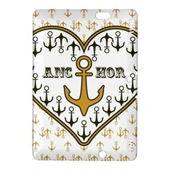 Anchor Heart Kindle Fire Hdx 8 9  Hardshell Case