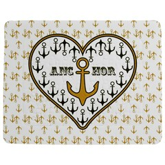 Anchor Heart Jigsaw Puzzle Photo Stand (Rectangular)